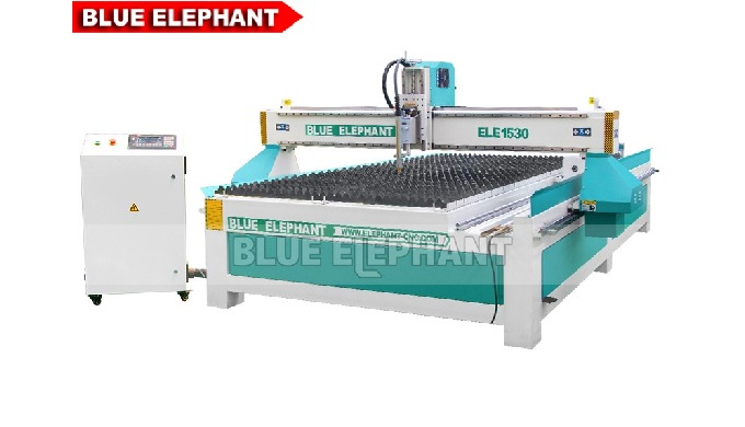 Features: 1. This kind of machine was designed with rotary device, which is different from another kind of 1530 Plasma M
