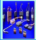 Un porte-balais est un système métallique qui guide les balais et les maintient en contact permanent avec le collecteur