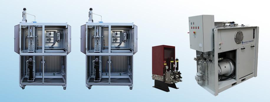 Kundetilpasset testsystem til hydraulisk pulse-test af tryksensorer