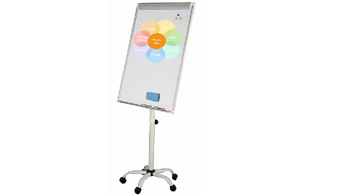 CHEVALETS PAPERBOARD MOBILE PIED ETOILE