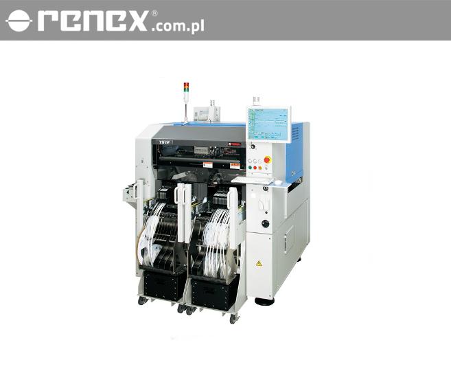 Automaty YAMAHA do montażu SMD Kompaktowość i modułowość przy zachowaniu dużej szybkości Podajniki ES z cienką, lekką i