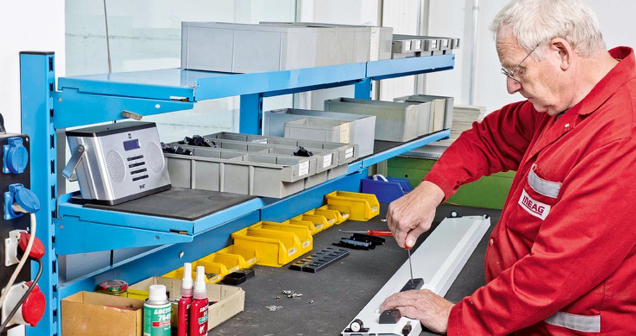 Auch die Kombination von Teilefertigung und Montage ist eine Spezialität von Meag. Neben den eigens hergestellten Teilen