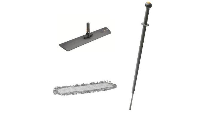 BALCOMVEL001 - Balai 40 ou 60 cm, de Balayage-Lavage à Plat, complet