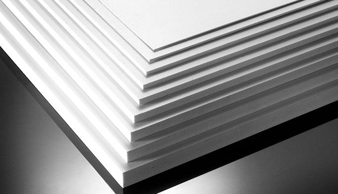 Plaque PVC expansé - type Forex