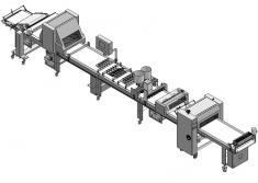 La máquina L.P.A. NAMBI puede ir acoplada a una Block Line o a cualquier línea de producción, para poder ser alimentada