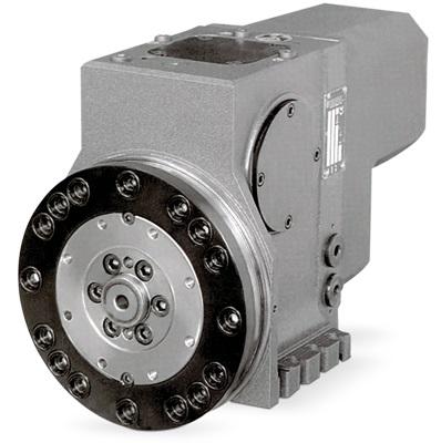 Torretas servos de la serie TB de eje horizontal, utilizan para su rotación un servo motor Brushless, gestionado este po