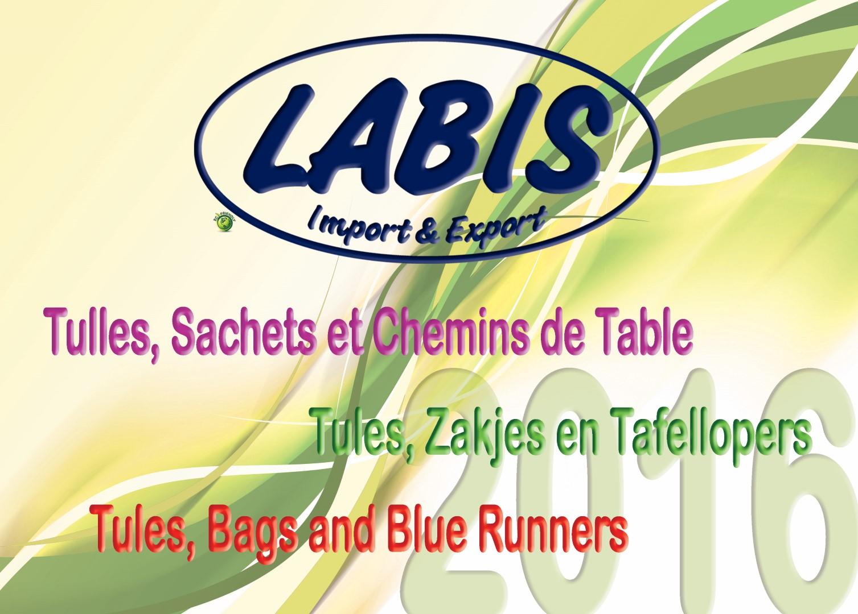 Nieuwe catalogus Tulles, zakjes en tafellopers