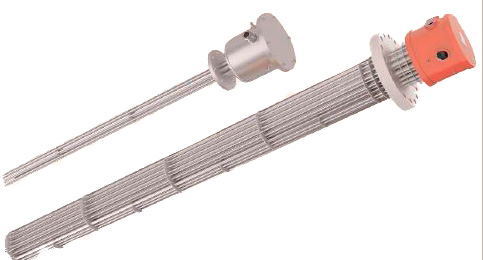 New design of Electric Heating Elements in Heating Groups with Flange and ATEX Certified