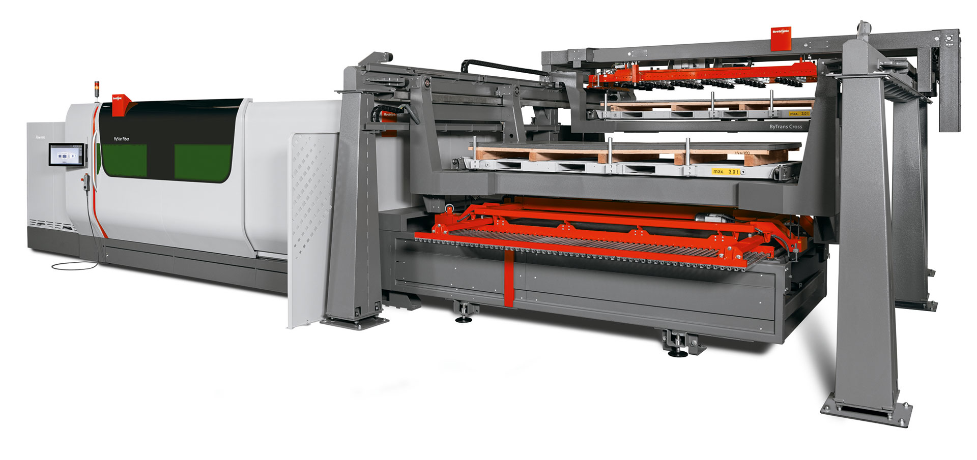 ByTrans Cross 4020: Large-format automation