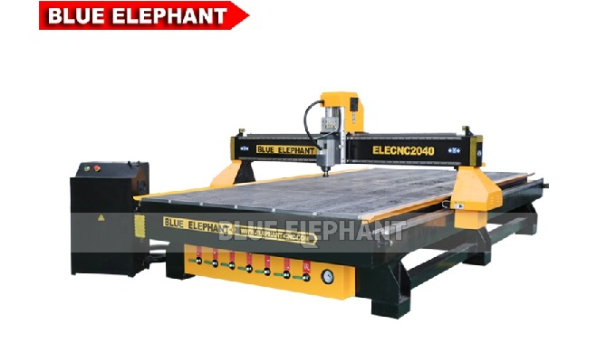 Feature: 1. 2040 woodworking machine can achieve simple operation under dsp a11 control system. 2. The new type of squar