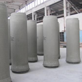Țevi din beton.