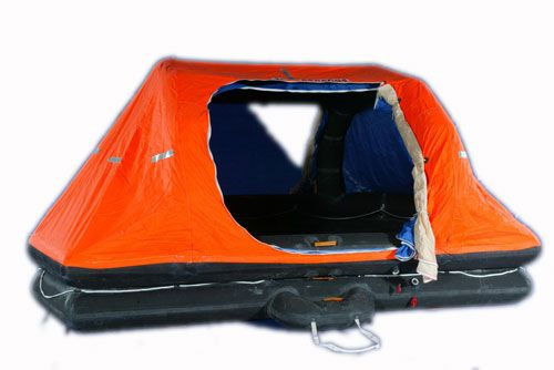 VIKING POLAR LIFERAFT, DAVIT-LAUNCHED