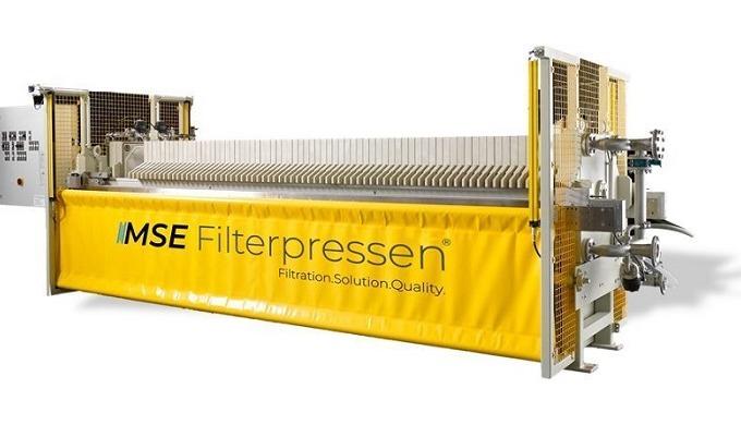 Die Kammerfilterpresse gehört neben ihrer einfachen und preiswerten Ausführung zu einer leistungsstarken und zuverlässig