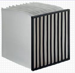 DriPak® NX, fabricado en un nuevo material sintético altamente eficiente, pertenece al segmento superior de filtros de b