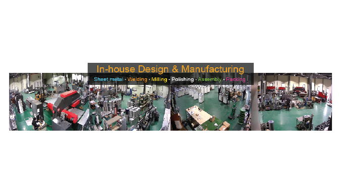 In-house Design, and Quality Craftmanship