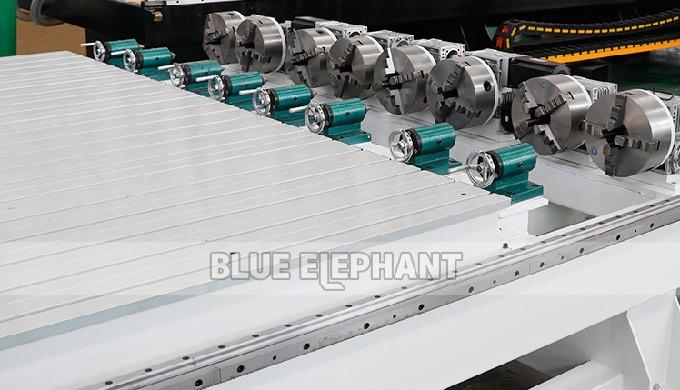 75/5000 Четырехосевое деревообрабатывающее оборудование с вращающимися устройствами ELECNC-1821