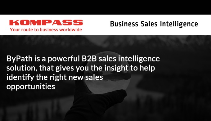 Kompass Business Sales Intelligence helps you connect with business leaders using ByPath, our next generation B2B data s