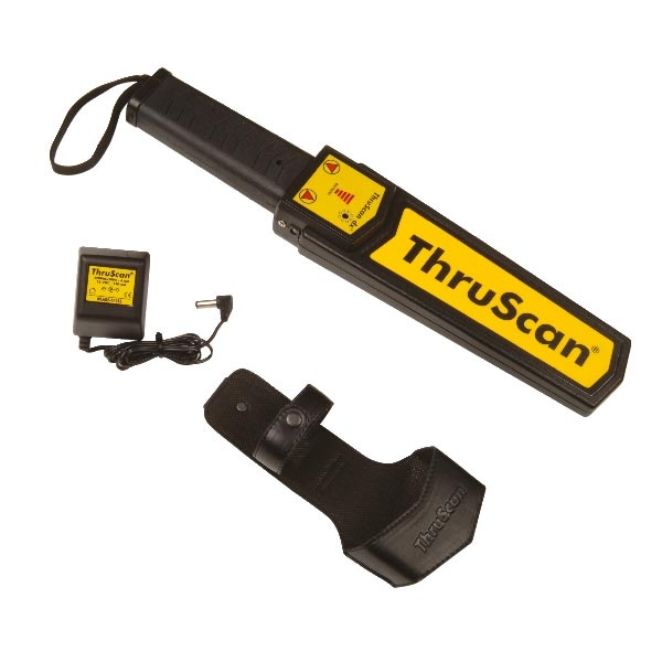 ThruScan dX is one of the few certified Hand-Held Metal Detectors with a feature to adjust the sensitivity of the HHMD.