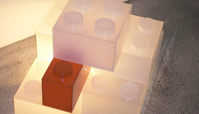 Plaque PMMA coulé Blanc diffusant opale