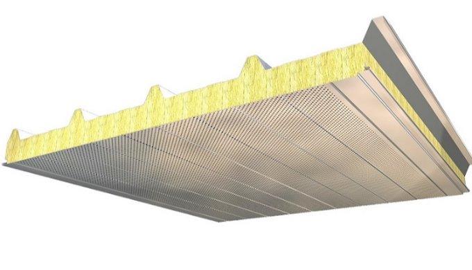 Isolation acoustique jusqu'à 41 dB avec les panneaux de couverture ACH 5 Ondes (P5G)