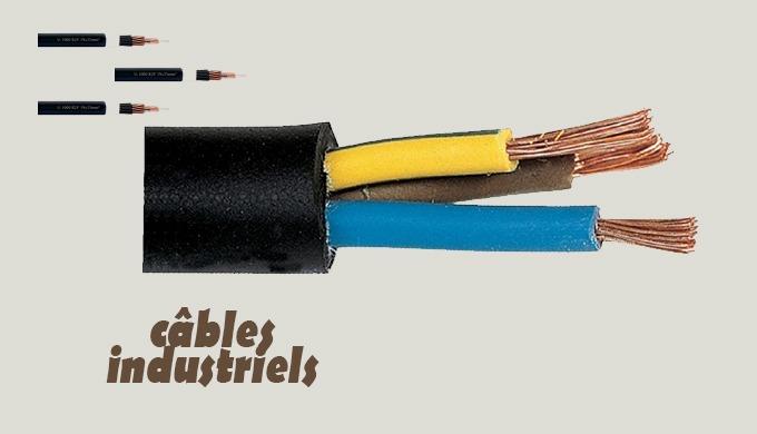 Différents élements constituent une bonne installation électrique : câbles et accessoires électriques , compteur, table