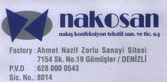 Nakosan Nakış Konfeksiyon Tekstil Sanayi ve Ticaret A.Ş.