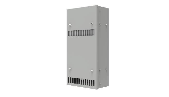 Scambiatore di calore Aria / Aria Costruiti con il nuovo, brevettato pacco di scambio in allumino, dalle dimensioni rid