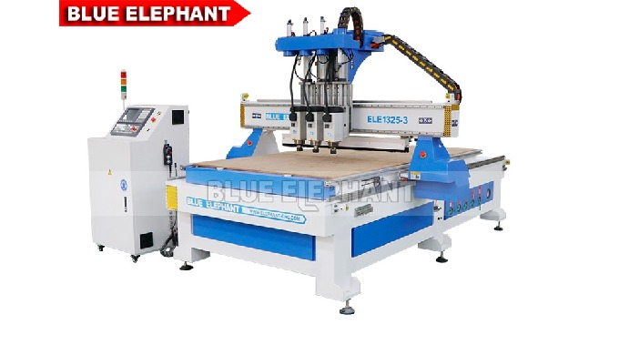ELECNC-1325 Multi Spindle Woodworking Machine