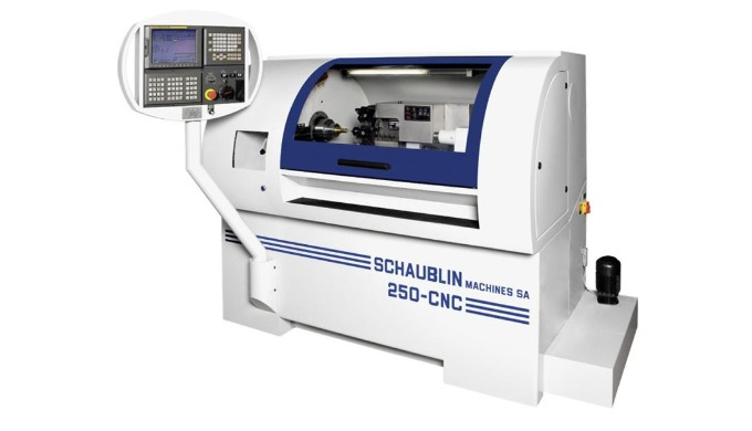 CNC-Drehmaschine Schaublin 250 CNC