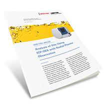 Applikationsbericht: Analyse von Ölen mittels ICP-OES mit radialer Plasmabetrachtung