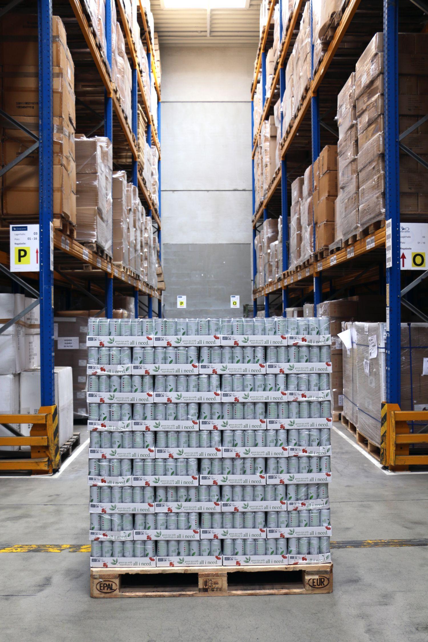 Optimalizovaná logistika organických osvěžujících nápojů