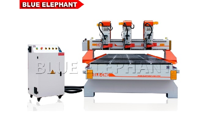 ELECNC-1660 Big Size Multi Heads CNC Router