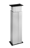 The DESKLINE®DL2 column is designed for a wide range of workstation applications and it is the ideal choice for duties