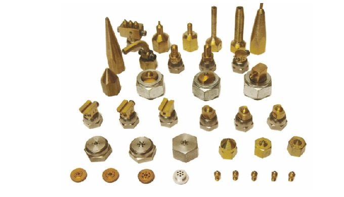 One-hole, multiple holes, straight, angle, spray Our hot melt nozzles provide excellent pattern control, homogeneous and