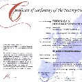 Certificate of Conformity of the Factory Production Control (FPC) / Certifikat o skladnosti proizvodne kontrole (FPC)