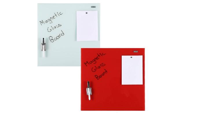 Une nouvelle esthétique pour écrire et afficher vos informations ! Tableaux en verre trempé mat de 4 mm d'épaisseur, san