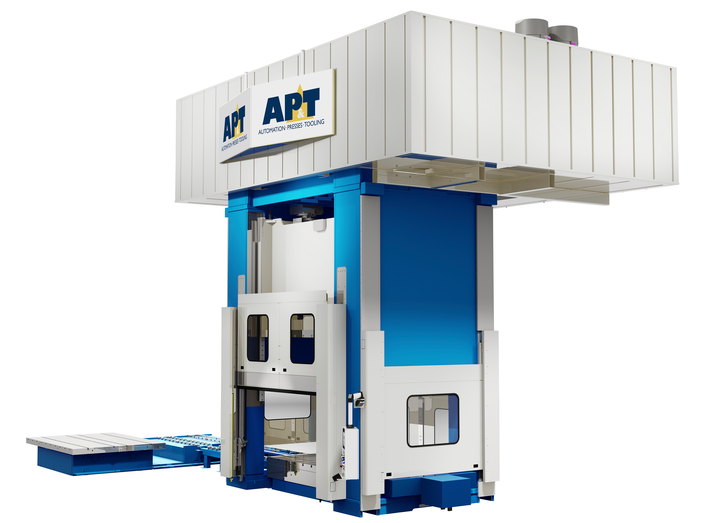AP&T has a broad program of hydraulic presses including press hardening presses, multi purpose presses, deep-drawing pre