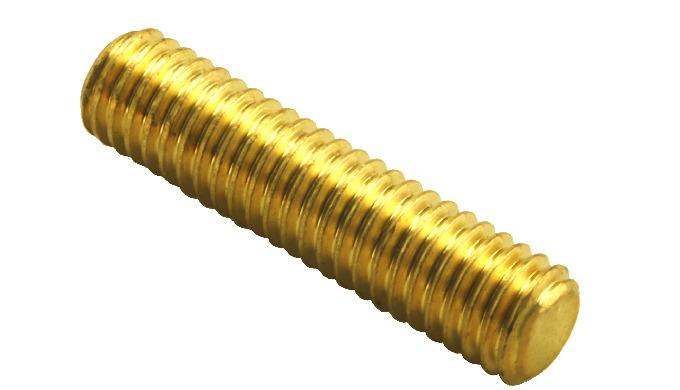DIN 976 Brass Studs All Threads