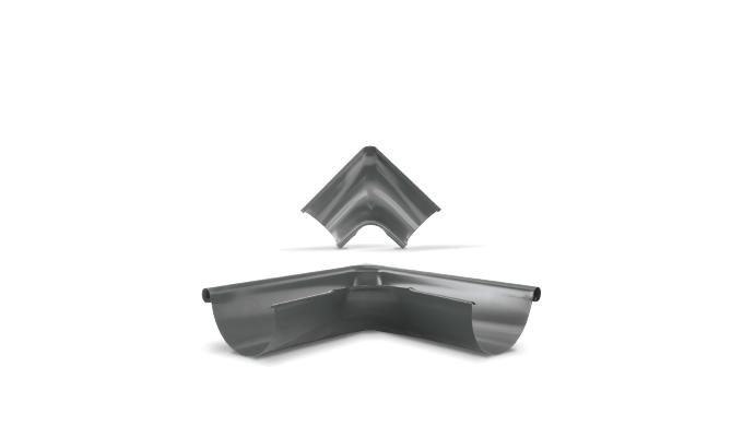 Narożnik wewnętrzny i zewnętrzny 90° - System rynnowy Hornval