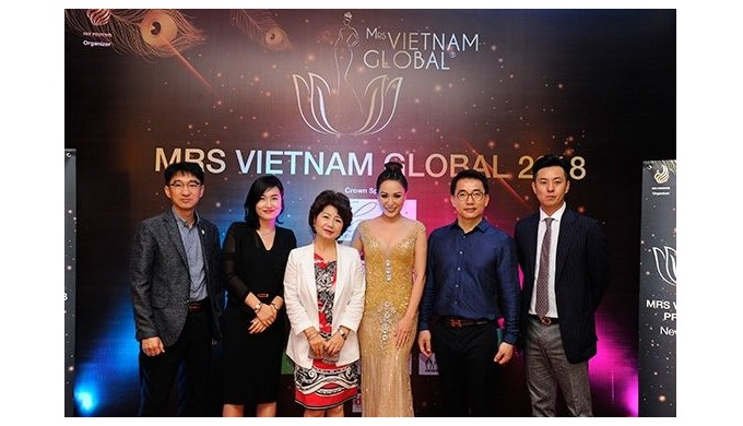 "Participation in ""Mrs Vietnam Global Contest 2018"" Official Sponsor"