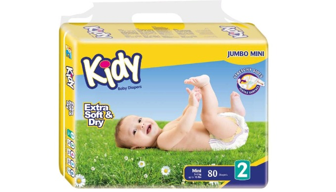 1. Air-Transitive Cottony Surface Diapers has a cottony upper surface for the comfort of your baby's sensitive skin. Fur