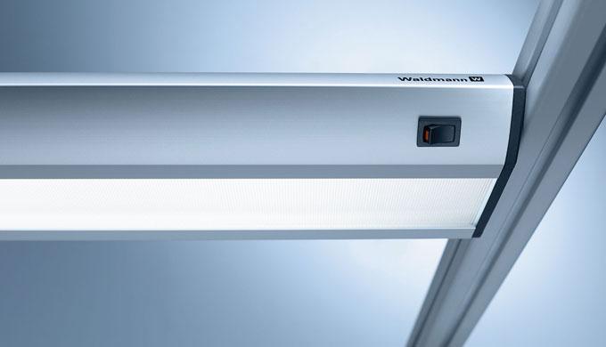 TAMETO steht für eine maßgenaue Integration der Beleuchtung zwischen den Auslegern in speziellen Varianten in drei Länge