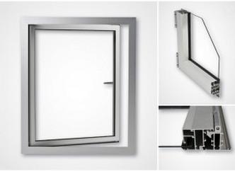 Aluminiumfönster OF45 utan bruten köldbrygga
