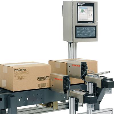 Sistema de marcaje para embalajes por inyección de tinta: MacsaJet Pro