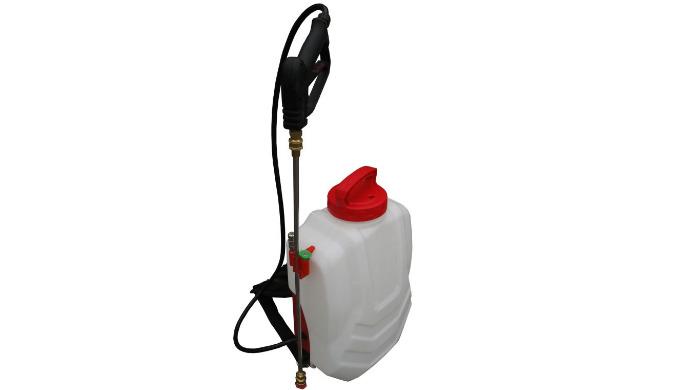 Pulvérisateur 16 litres à batterie pour une autonomie 1h30. Idéal pour les endroits à mobilité réduite : toits, charpent