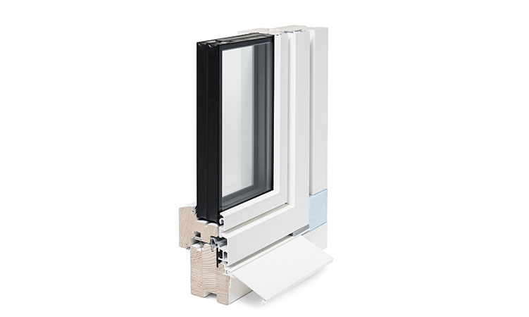 Holzmetall-Fenster