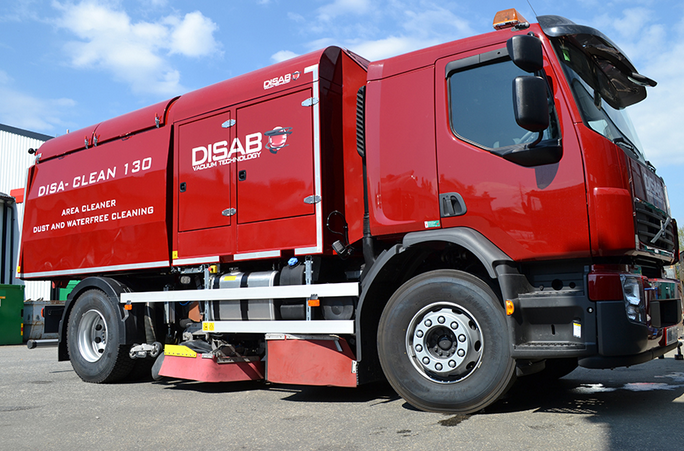 DISA-CLEAN HIGH VACUUM ROAD SWEEPERS