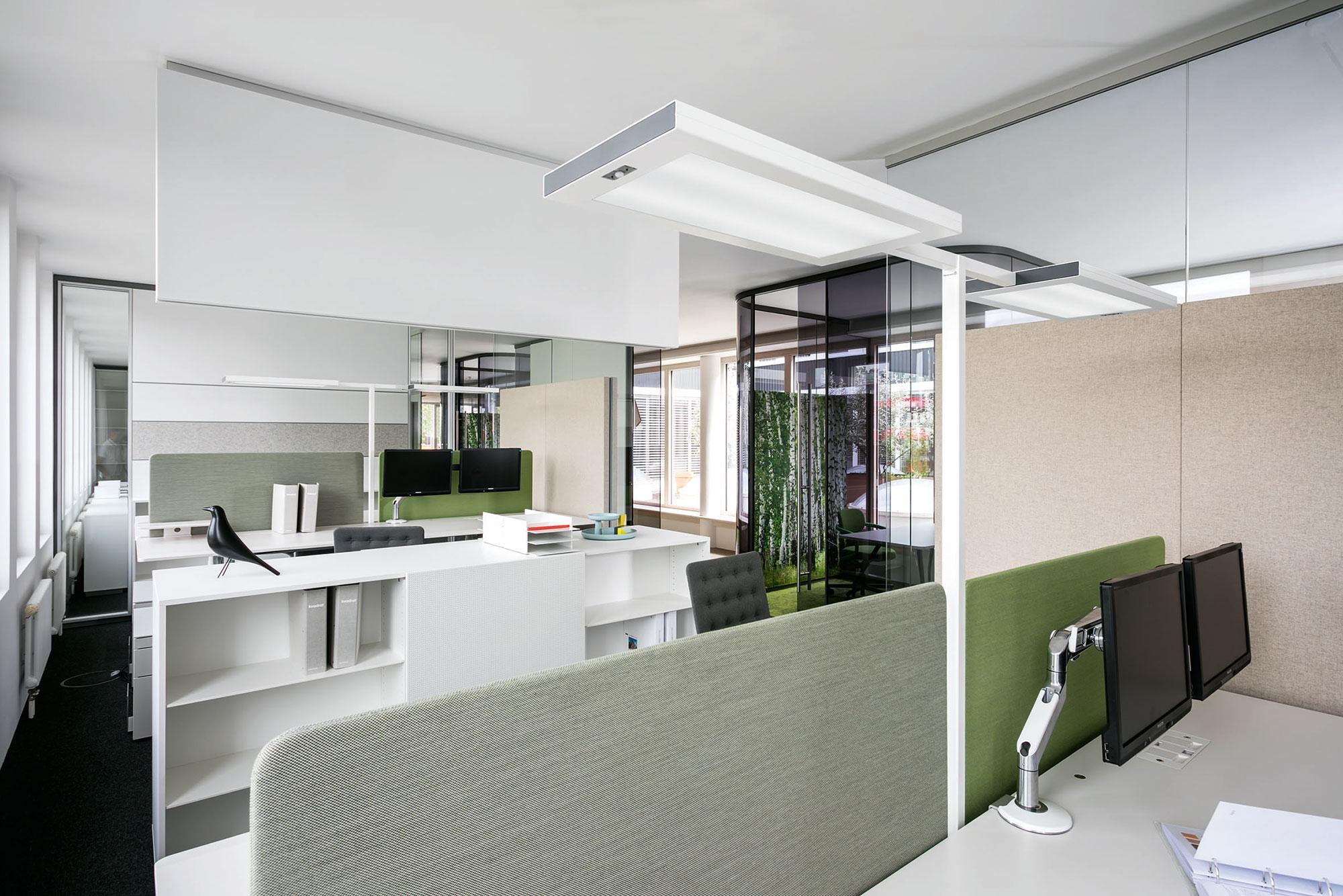 Inspiration durch biodynamisches Licht in feco-Feederle Büros