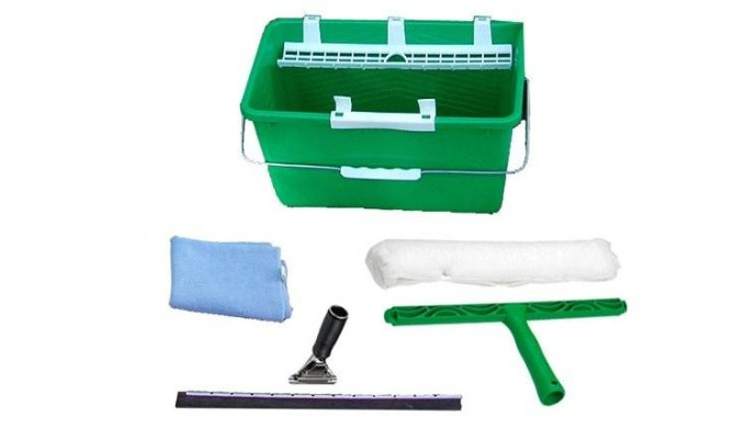 Les kits sont faits pour vous faciliter votre démarche de commande. Kit composé d'un seau 18L avec reposes mouilleur et