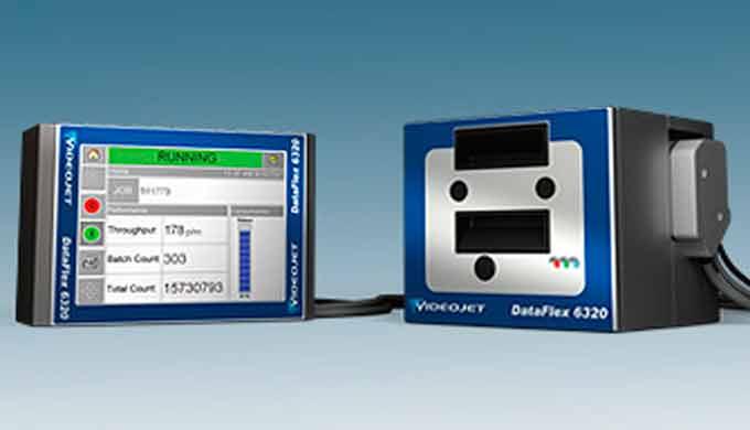 IMPRESORA POR TRANSFERENCIA TÉRMICA (Media velocidad): Videojet Dataflex 6320